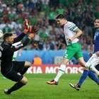 Irlanda vence 1-0 a Italia y clasifica a la segunda ronda