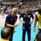 Brasil apanha para saque da Sérvia e perde 1ª na Liga