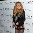 Mariah Carey debuta como DJ en Las Vegas, sin pantalones