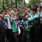 Selección U19, invitada de honor de Peña Nieto en Los Pinos