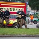 Captan momento del tiroteo en Múnich (VIDEO)