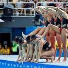 Brasil encerra 1ª participação no nado sincronizado em 6º