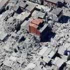 Imágenes aéreas muestran la destrucción del terremoto en ...