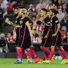 Barcelona vence o Bilbao e divide liderança do Espanhol