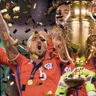 """Vidal fuerte y claro: """"Chile es la selección más fuerte ..."""