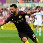 Aguero decide, City vence 6ª e segue imbatível com Guardiola