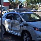 Vehículo autónomo de Google involucrado en un accidente vial