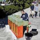 Pianos en la calle son tremendo éxito en Boston