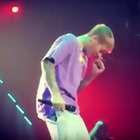 Justin Bieber llena de mocos a sus fans en un concierto ...