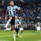 Grêmio bate Palmeiras e fica a um empate da semifinal