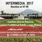 Burros Blancos te invita a ser parte de su Intermedia 2017