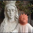Restaura la cabeza del Niño Jesús... y termina como el ...