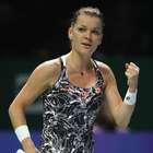Radwanska vence a 1ª no WTA Finals e elimina Muguruza