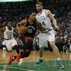 Lowry conduce la victoria de los Raptors con 34 puntos