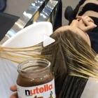 VIDEO: ¿Te atreverías a teñirte el pelo con Nutella? Es ...