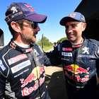 Loeb se quedó con la penúltima etapa en autos del Dakar