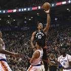 Raptors superan sin inconvenientes a los Knicks