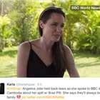 Angelina Jolie se derrumba hablando de su divorcio por ...