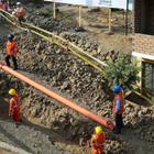 Independencia: Se avanzó en un 60% las obras de agua y ...