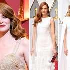 Oscar 2017: Las estrellas se dividen entre blanco y dorado