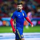 """Piqué: """"Del Madrid no me gusta la gente que hay en el palco"""""""