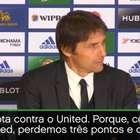"Chelsea superou ""grande teste psicológico"", considera Conte"