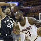 Cavs arrasan a Raptors liderados por LeBron James