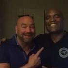"""Dana nega pedido de Anderson Silva: """"deveria se aposentar"""""""