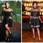Sophia e Nanda Costa usam mesmo vestido Reinaldo Lourenço