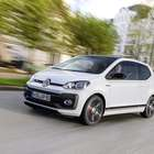 Volkswagen mostra o Up GTI em evento na Áustria