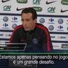 Para Emery, vitória do PSG será muito importante