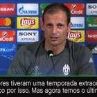 """Casemiro garante o equilíbrio do Real Madrid"" - Allegri"