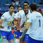 Brasil bate Irã, reage e vence a 1ª da era pós-Bernardinho