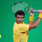Rogerinho e Thiago Monteiro sobem posições no ranking da ATP