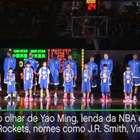 Sob o olhar de Yao Ming, jogadores da NBA celebram ...