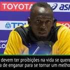 """Bolt: """"Provei ao mundo que você pode ser grande sem doping"""""""