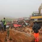 Corpos foram levados pela lama, diz agente em Serra Leoa