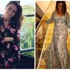 Para copiar: Giovanna Antonelli aposta em vestidos florais