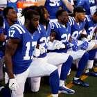 Vice dos EUA abandona jogo da NFL após protestos em hino