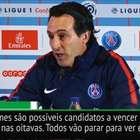"""Emery: """"Todos vão parar para ver PSG x Real Madrid"""""""