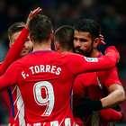 Diego Costa passa em branco, mas Atlético vence e classifica