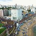 Carnaval de Salvador registra público 20% maior em 2018
