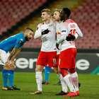 Napoli leva virada do Leipzig e se complica; Atlético goleia