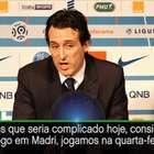 """Ligue 1: Emery: """"Hoje Thiago Silva estava concentrado ..."""
