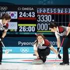 Curling feminino vira sensação entre os países asiáticos