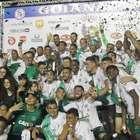 Goiás é campeão após paralisação, expulsões e muita chuva