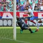 Bruno Henrique volta, mas Santos perde para o Bahia no fim