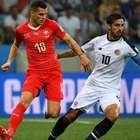 Suíça empata com a Costa Rica e avança para as oitavas