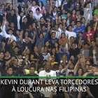 BASQUETE: NBA: Kevin Durant leva torcedores à loucura em ...