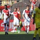 Monaco sofre no início, mas estreia com vitória sobre o ...